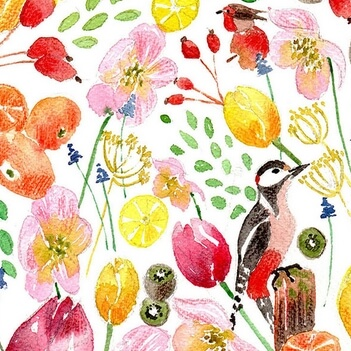 Inspiration Printemps 2018 - Illustration Pauline Gallais